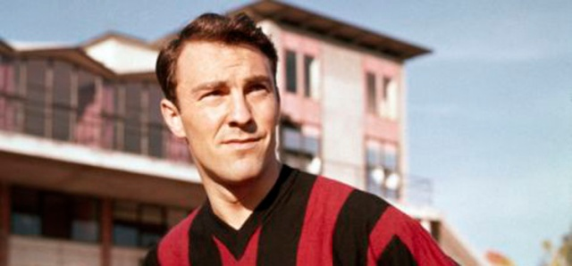 Sport. Football. Italy August 1961. Jimmy Greaves of AC Milan.