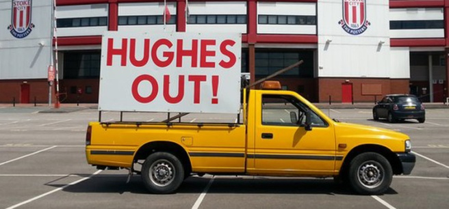 hughes out